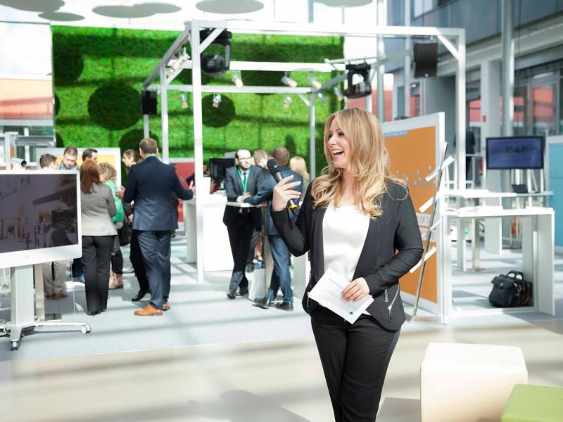Moderatorin Hamburg Saskia Naumann Moderatorin Event Messe Messe Moderatorin Hamburg